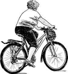 Bretillienne à vélo