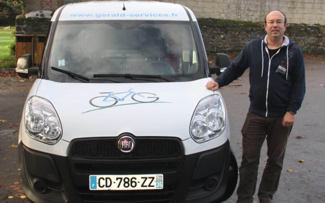 GERALD SERVICES le véhicule