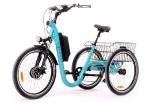 Nouveau «Le Tricycle Français» électrique Evasion chez Gérald Services !